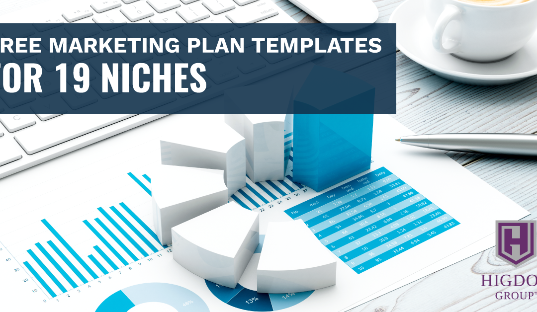 Free Marketing Plan Templates for 19 Niches