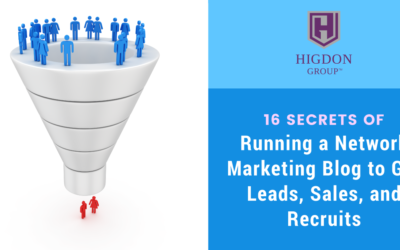 16 Secrets of my Network Marketing Blog to Get Leads